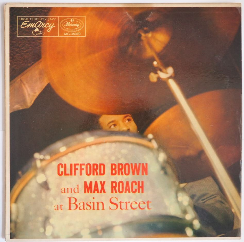 clifford brown max roach - at basin street 36070