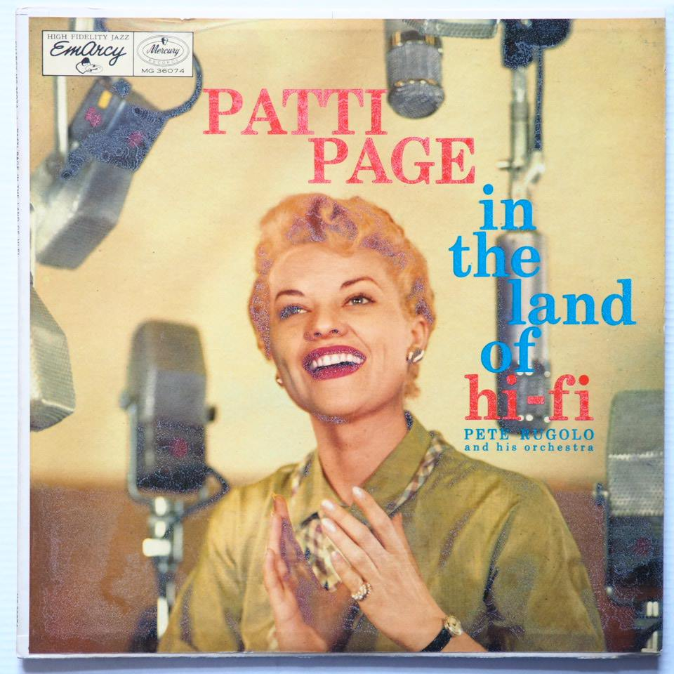 patti page - in the land of hi-fi 36074