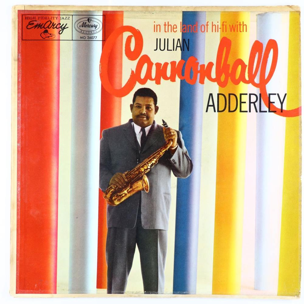 cannonball adderley - in the land of hi-fi 36077
