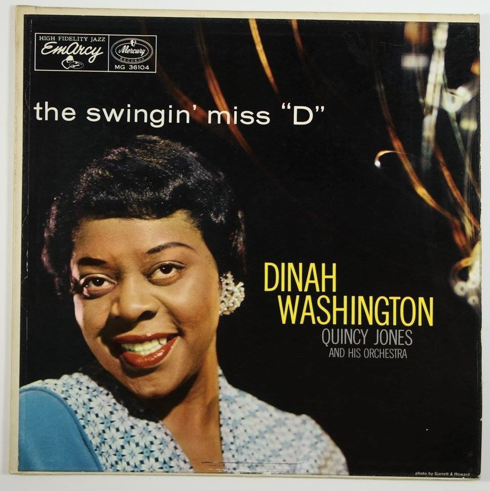 dinah washington - the swingin' miss d 36104