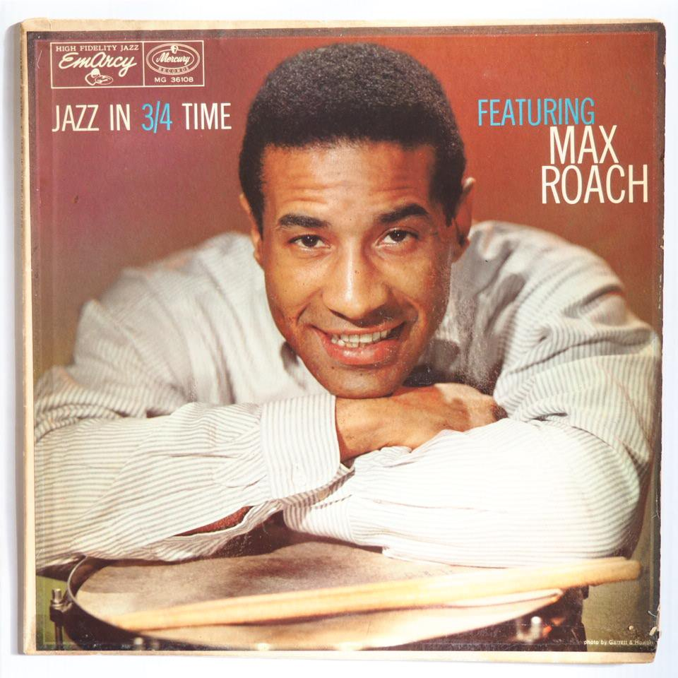 max roach - jazz in 3/4 time 36108