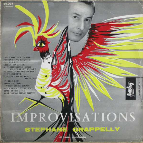 stephane grappelly - improvisations barclay