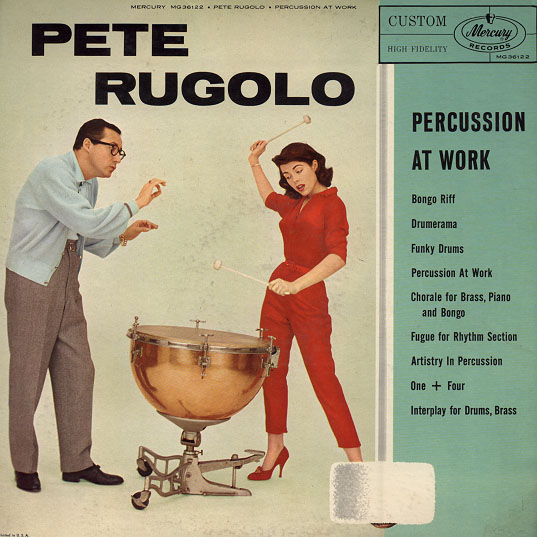 pete rugolo - percussion at work 36122