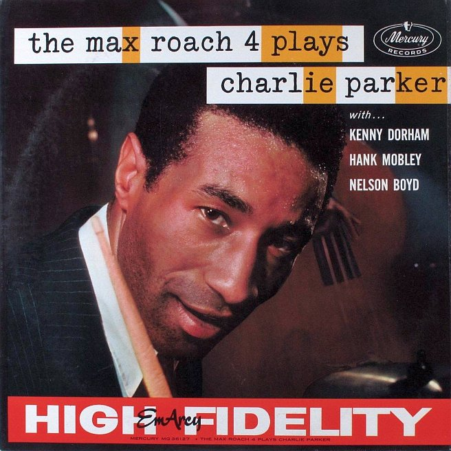 max roach - plays charlie parker 36127