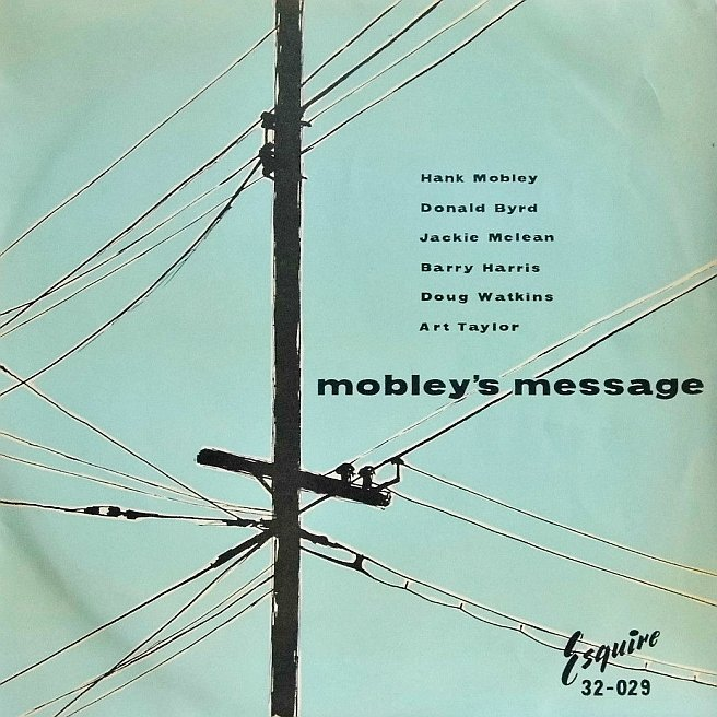 hank mobley - mobley's message 32-029
