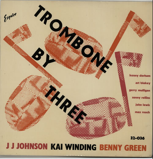 kai winding bennie green - trombone by three 32-036