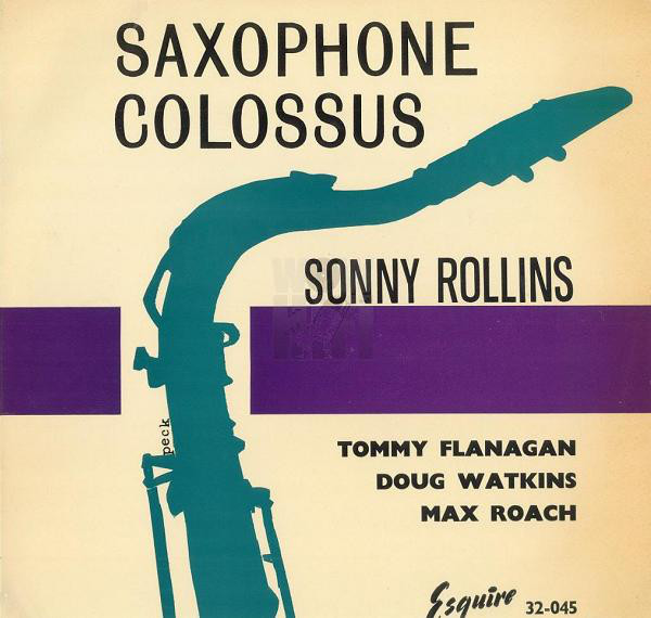 sonny rollins - colossus 32-045 esquire