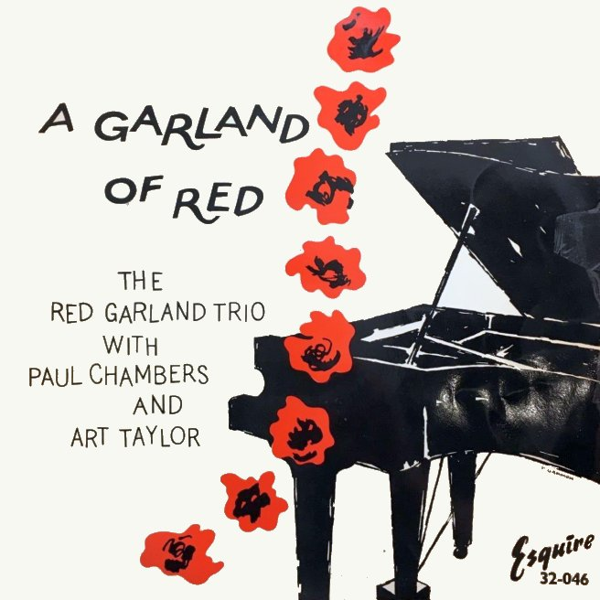 red garland - a garland of red 32-046