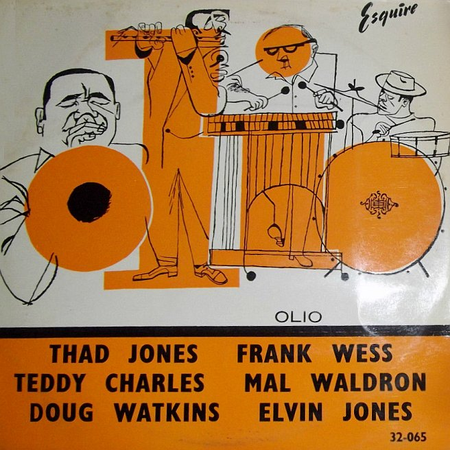 thad jones - olio esquire 32-065