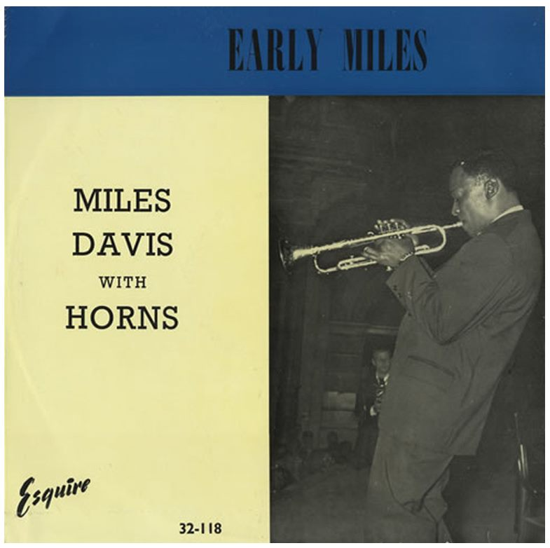 miles davis with horns early miles esquire 32-118