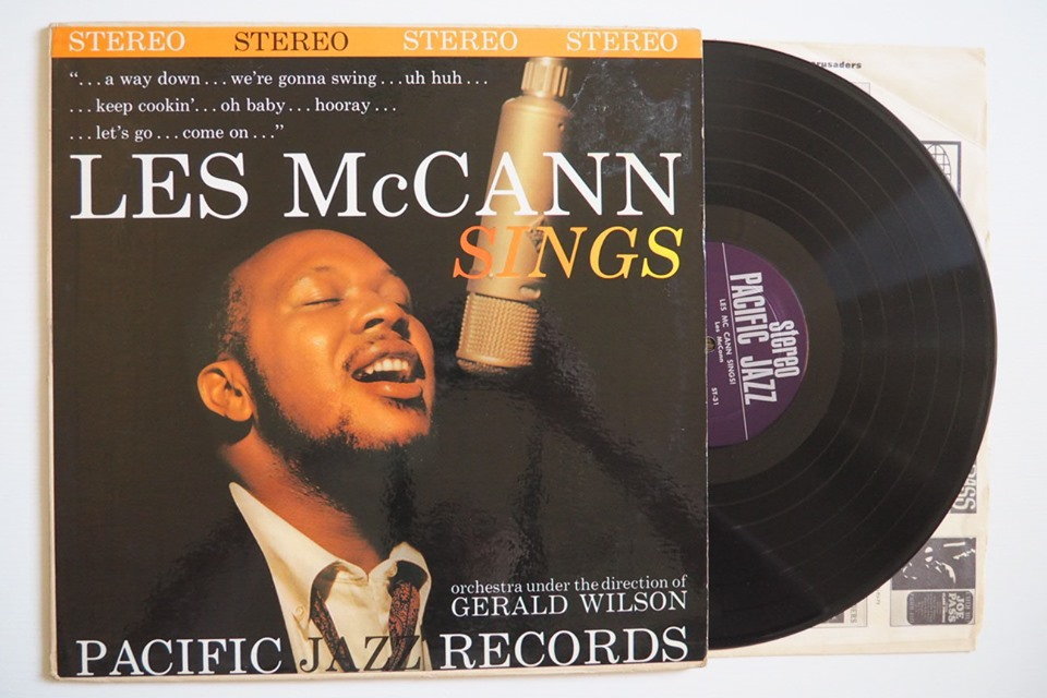 les mccann - sings pacific jazz 1961