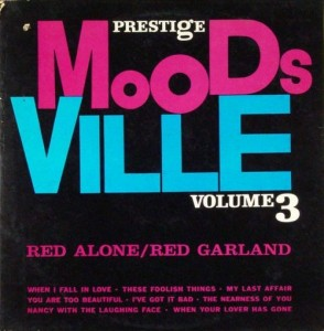 red garland - red alone moodsville 3