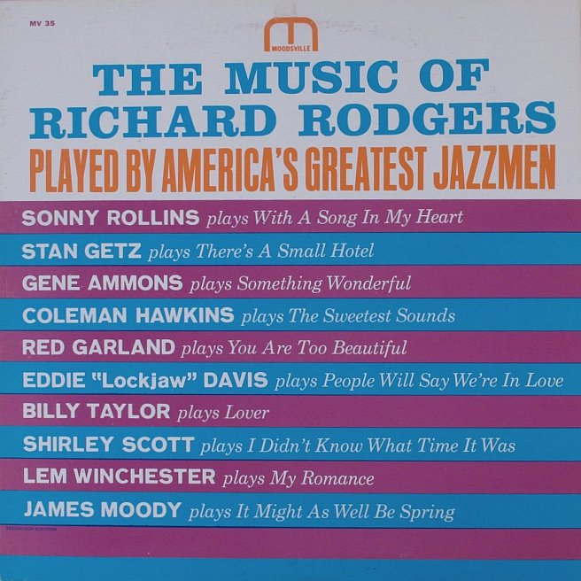 various artists - music of richard rodgers 35