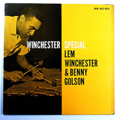 lem winchester, benny golson - winchester special 8223
