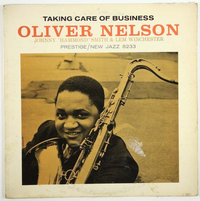 oliver nelson - taking care of business 8233