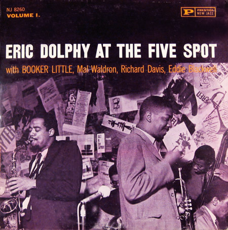 eric dolphy - at the five spot vl. 1 8260