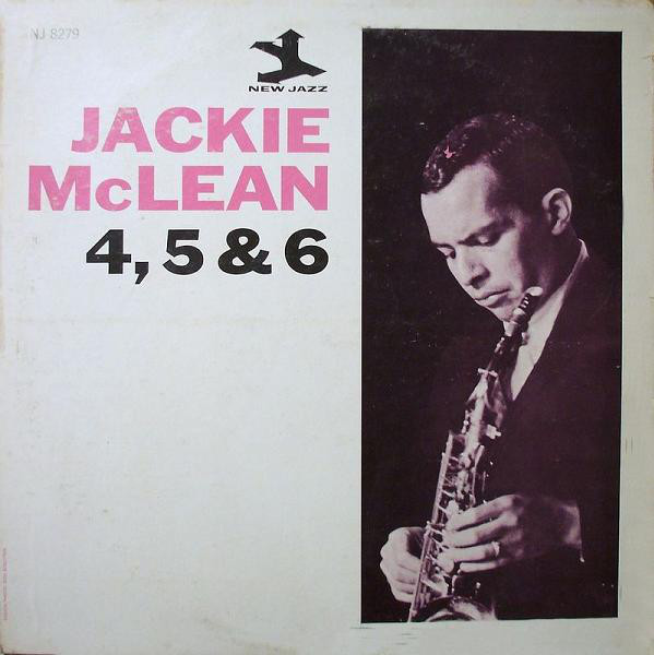 jackie mclean - 4, 5 and 6 8279