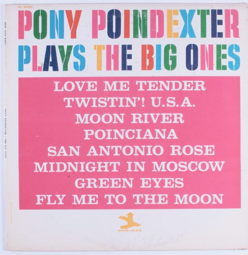 pony poindexter - plays the big ones 8285