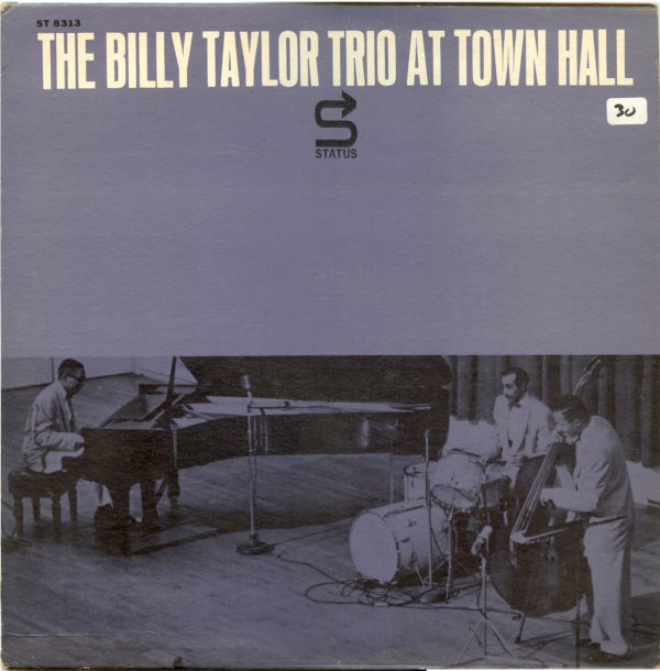 billy taylor - town hall 8313