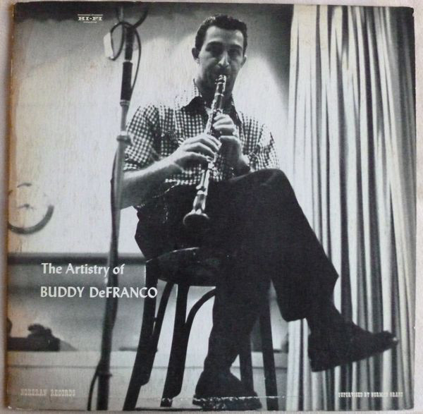 buddy defranco - and his clarinet mgn 1012