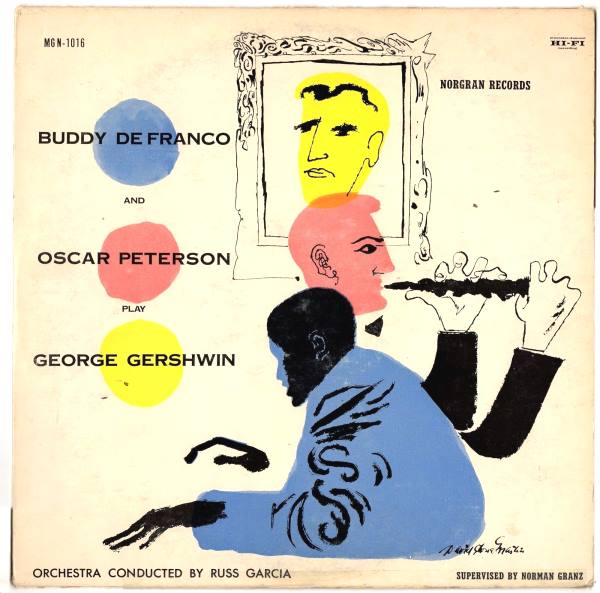 buddy defranco - oscar peterson - play george gershwin mgn 1016