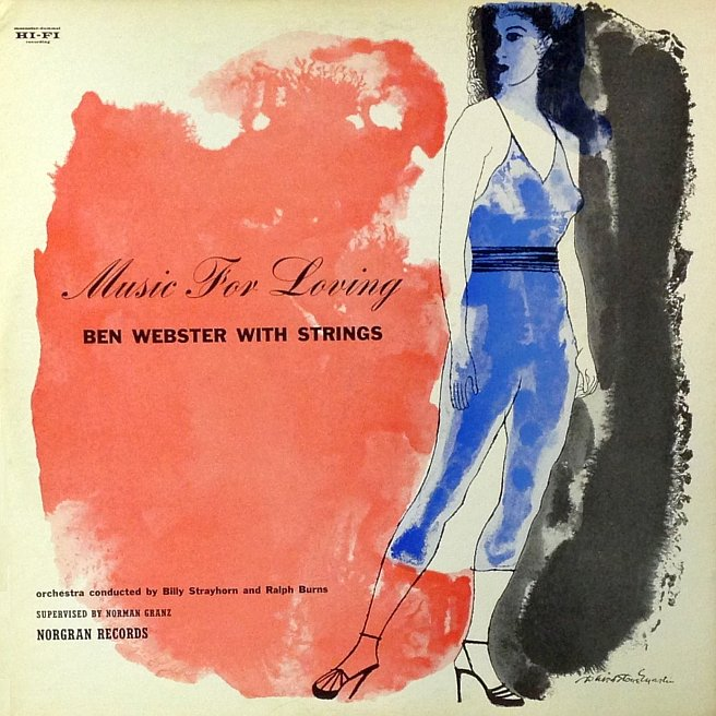 ben webster - music for loving mgn 1018