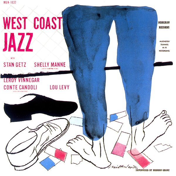 various artists - west coast jazz mgn 1032