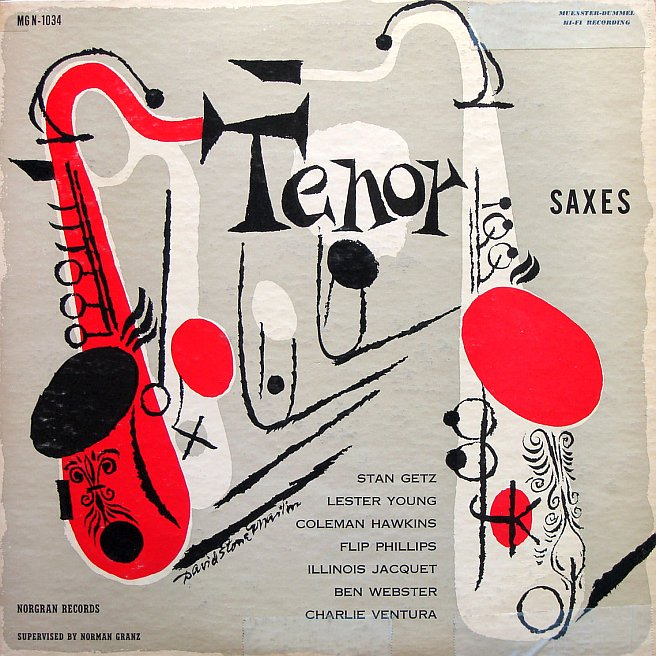 various artists - tenor saxes mgn 1034