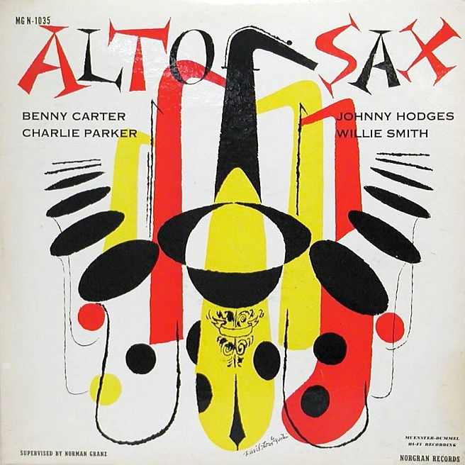 various artists - alto saxes mgn 1035