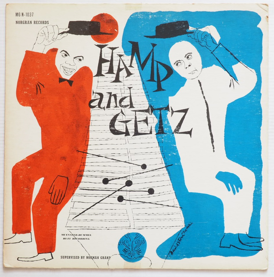 stan getz lionel hampton - hamp and getz