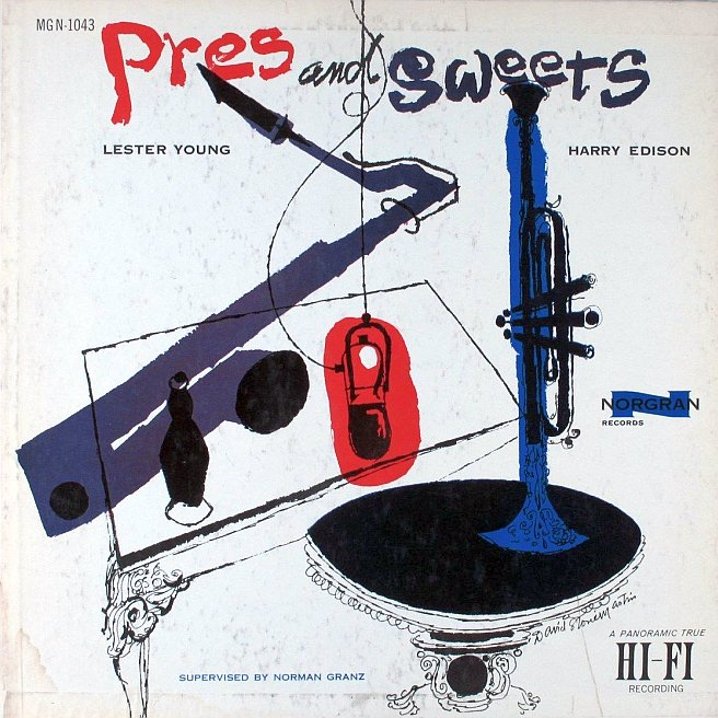 lester young - harry edison - pres and sweets 1043