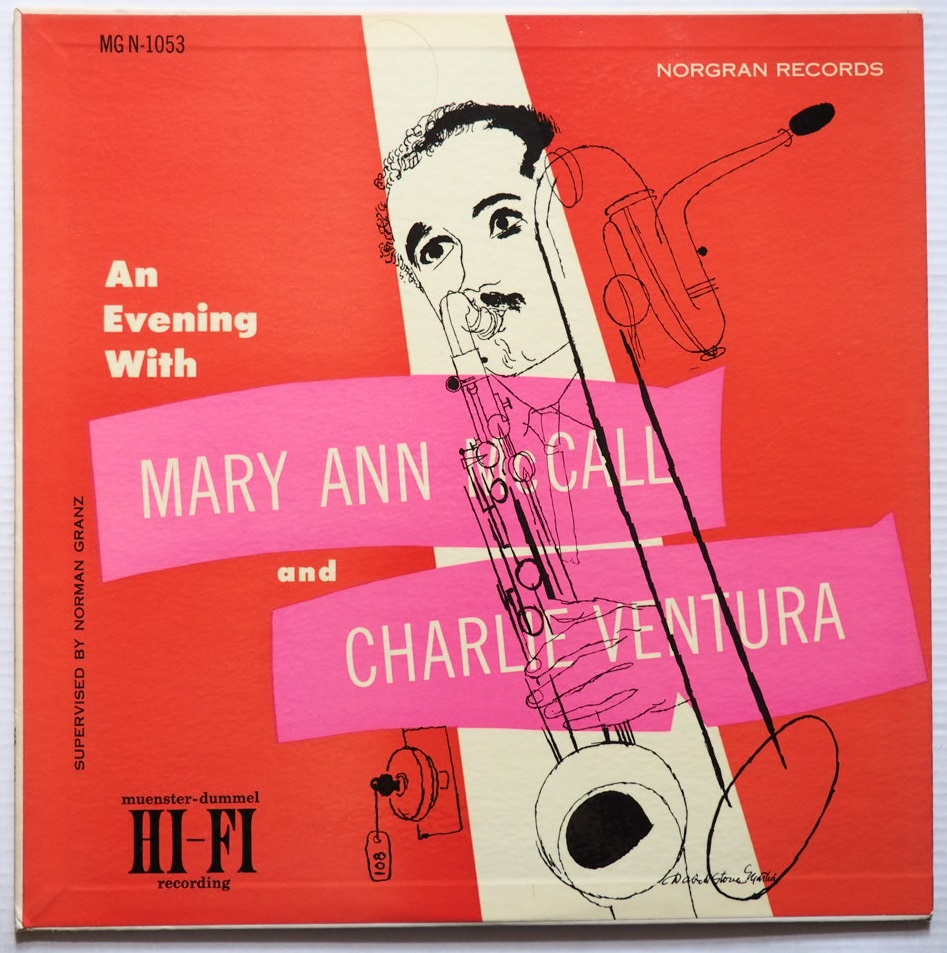 charlie ventura - mary ann mccall - an evening with