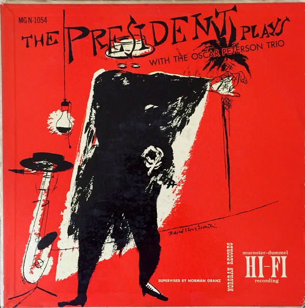 lester young - the president plays with oscar peterson trio 1054