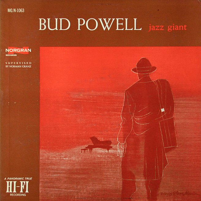 bud powell - jazz giant mgn 1063