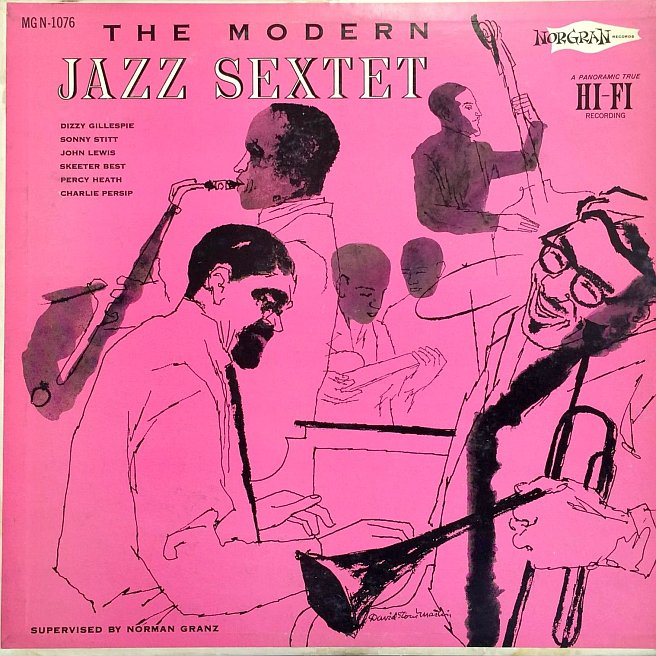 the modern jazz sextet 1076