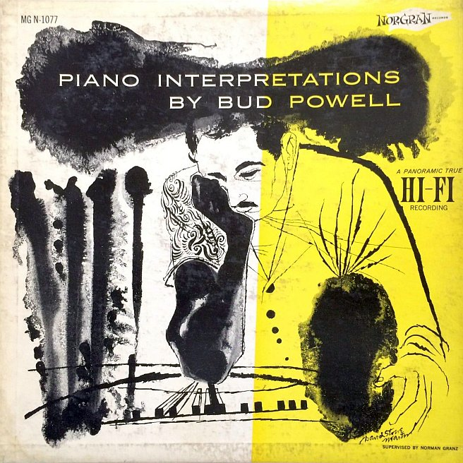 bud powell - piano interpretations 1077