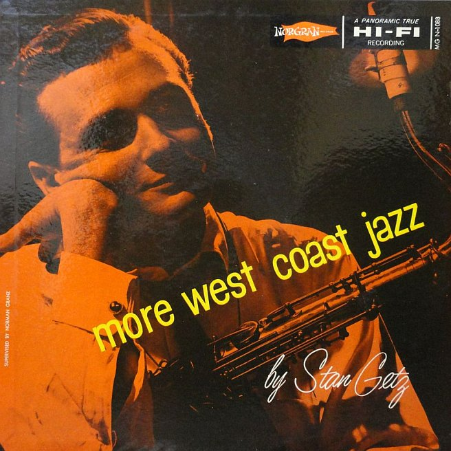 stan getz - more west coast jazz 1088