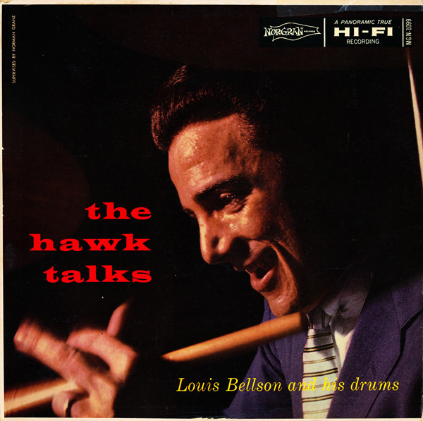 louis bellson - the hawk talks mgn 1099
