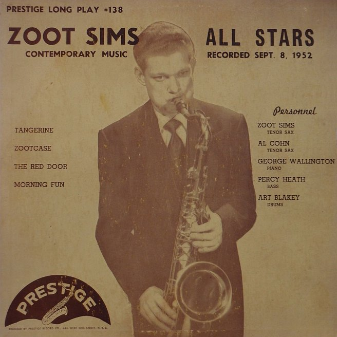 zoot sims all stars 138