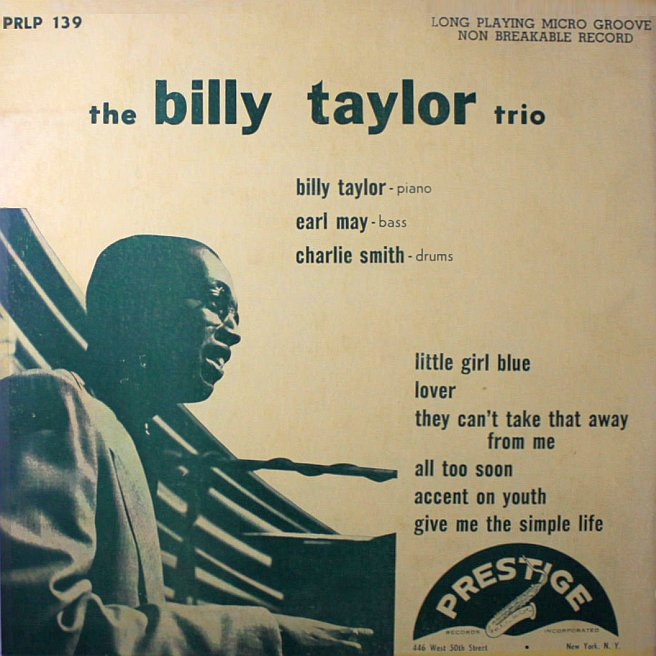 billy taylor trio 139