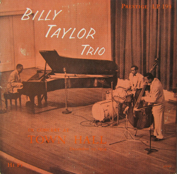 billy taylor trio at town hall 194