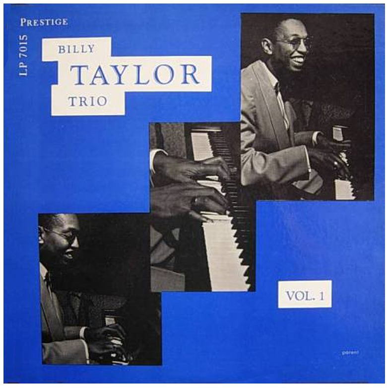 billy taylor trio vol. 1 7015 alt cover
