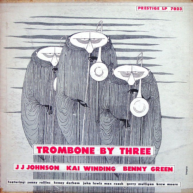7023 prestige trombone by three