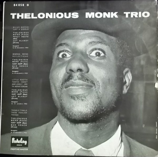thelonious monk trio barcley 7027