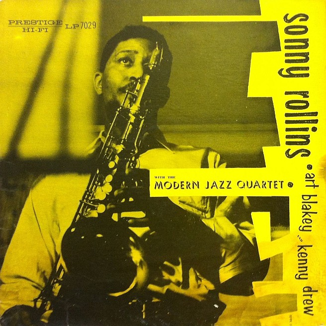 sonny rollins modern jazz quartet yellow cover 7029