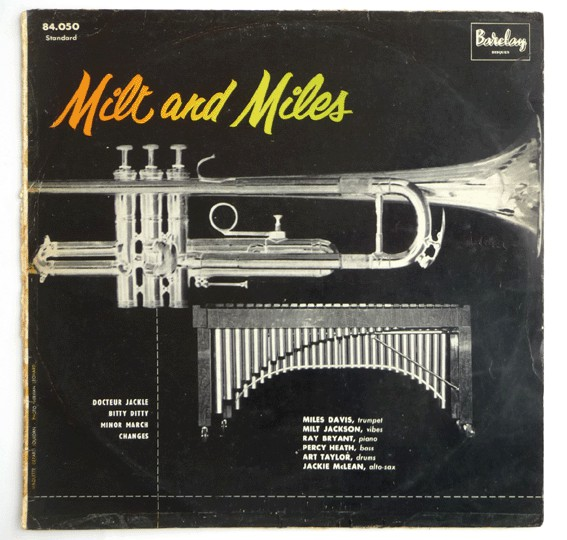 miles davis - milt and miles 7034 barclay
