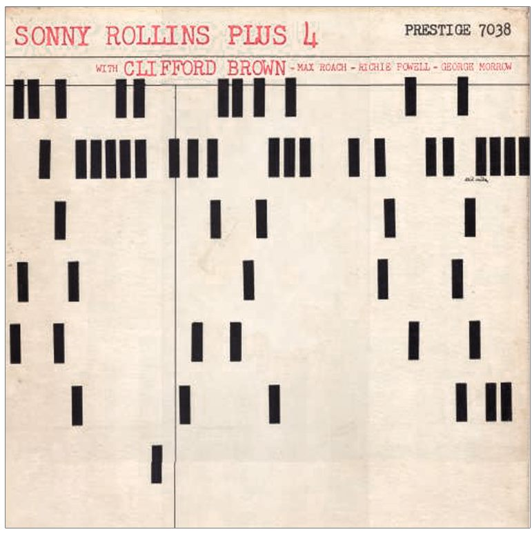 sonny rollins - plus four 7038 alt cover
