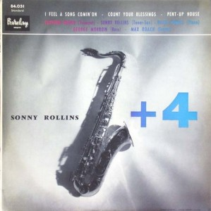 sonny rollins plus 4 barclay