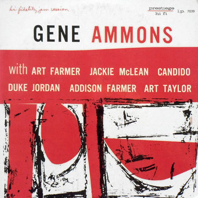 gene ammons - the happy blues 7039