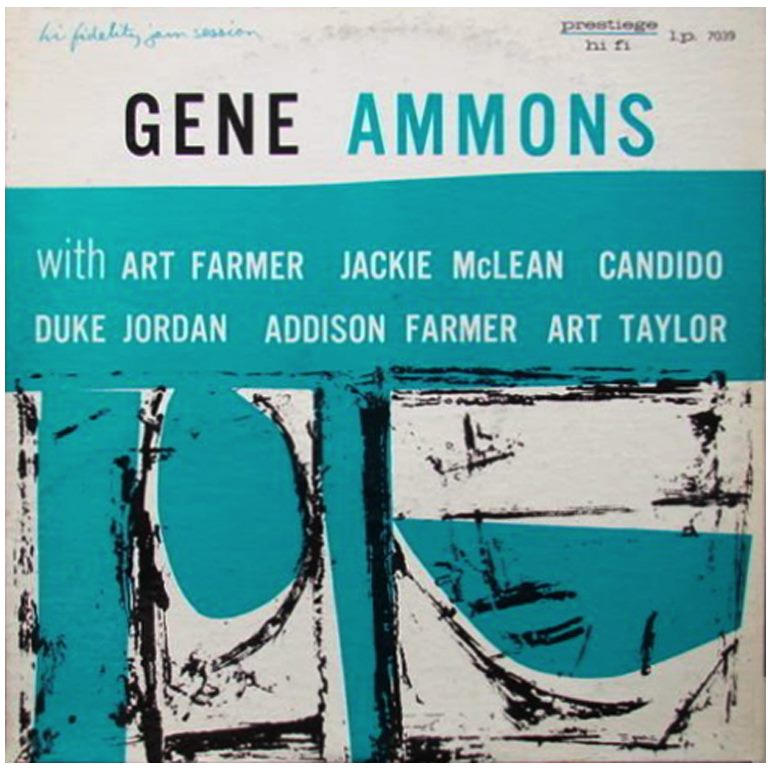 gene ammons - the happy blues blue cover 739